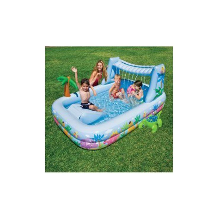 Intex Kids Swimming Pool Waterfall Inflatable Kids Pool Outdoor Water Toys New #Intex