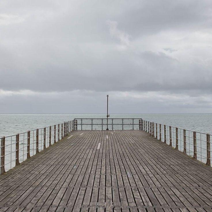Bognor Regis Pier II Sussex. #ukcoastwalk Comment: #photo #sussex #abstract #photooftheday #follow #instalike #pattern #art #psychogeography #landscape #coast #seasidePhoto: Quintin Lake www.theperimeter.uk