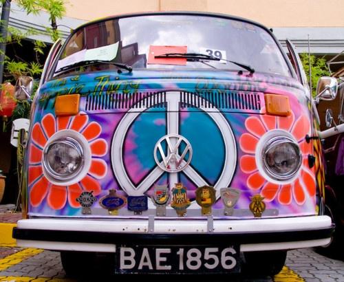 Peace bus....