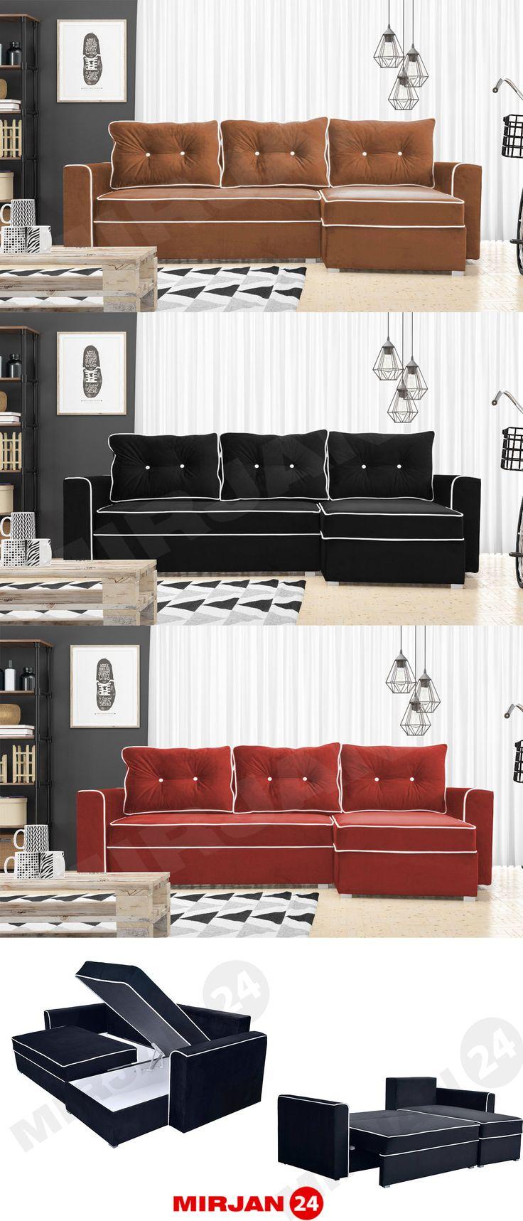 Which colour does the Back corner look best in? Choose your type! Enter the image after more.  W którym kolorze narożnik Back wygląda najlepiej? Wybierz swój typ! Wejdź w obraz po więcej.  #mirjan24 #cornersofa #narożnik #funkcjaspania #livingroom #salon