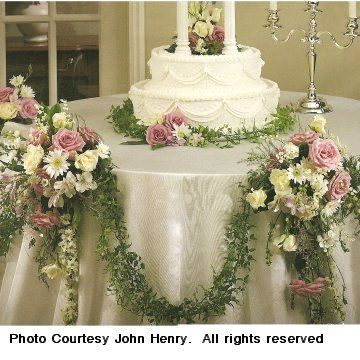 17 best images about wedding cake tables on pinterest for Angela florist decoration