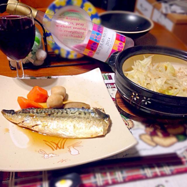 本日の深夜の晩餐 - 56件のもぐもぐ - 餃子&焼売鍋と鯖の煮付け by manilalaki