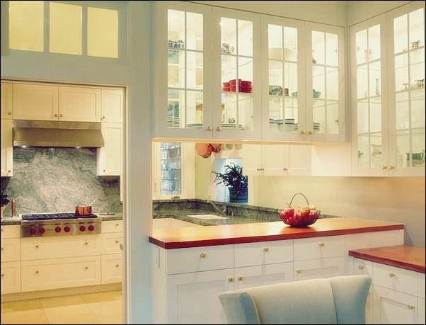 Einfache Ideen, um Ihre Küche mit Glas zu verändern Küche