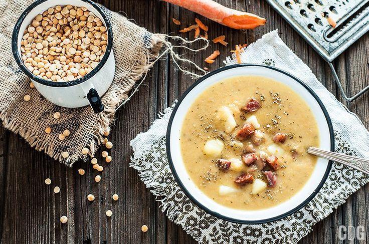 Grochówka   Polish Pea Soup
