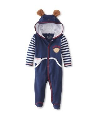 64% OFF Bunnies By the Bay Baby Coverall (Navy)