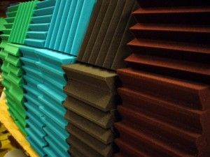 colored acoustical wedge foam music studio ideas pinterest the ojays blog and wedges - Colored Foam