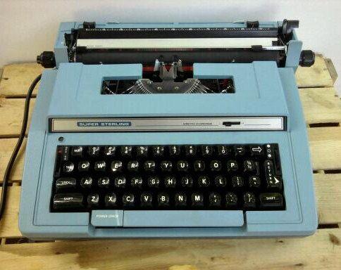 Vintage Super Sterling Electric Typewriter by Blakenetizen on Etsy, $150.00
