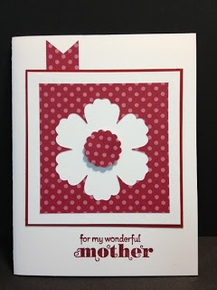 Delightful Dozen Mother's Day Card Stampin' Up! Rubber Stamping