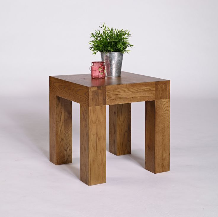 Santana Rustic Oak Lamp Table. A beautiful little table which can be used in any room.