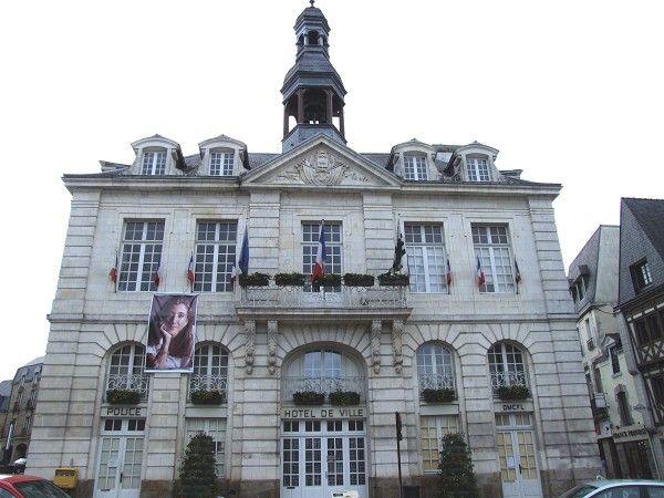 Hôtel de ville d'Auray (56) - 1782
