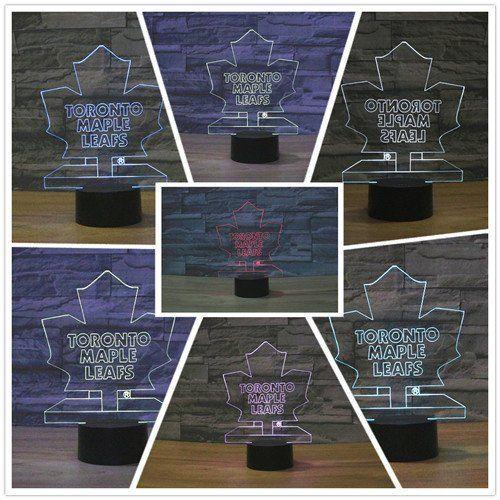 Ice Hockey Toronto Maple Leafs LED Neon Light Sign