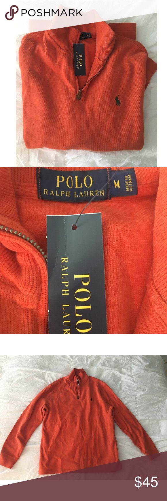 NWT Polo Pullover/Quarter Zip NWT Polo Pullover/Quarter Zip size medium let me know if you have any questions! Polo by Ralph Lauren Sweaters