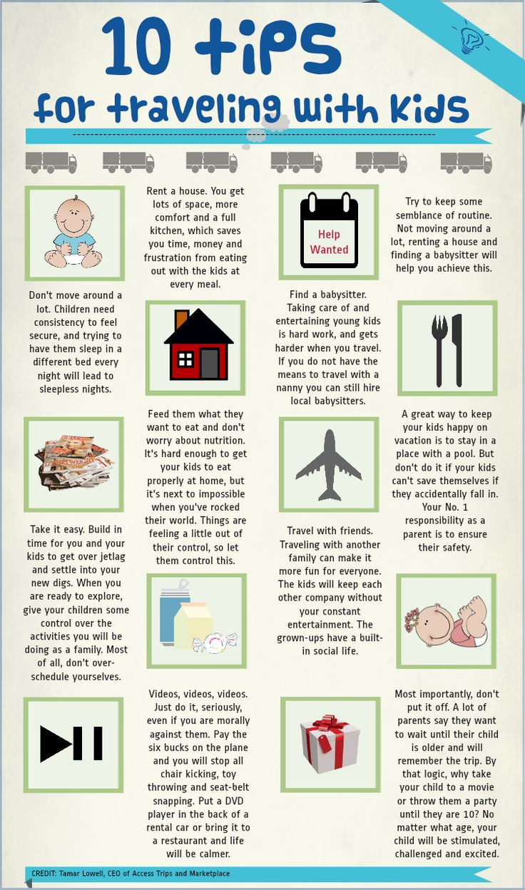 10 Amazing Tips For Travel With Kids! Vacation Rentals Are A Great Option  To Give