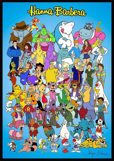 Hanna Barbera 70's & 80's cartoons - How many can you name?  I'm struggling!!  LOL Can't forget Jabber Jaw and Magilla Gorilla!!