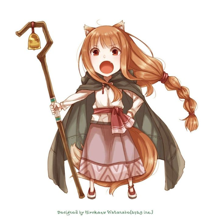 What kind of weird mix is this? | Spice and wolf holo ...