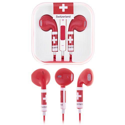 Fifa Switzerland Earphones #switzerland #worldcup #earphones #fifa #smartphone $5.53