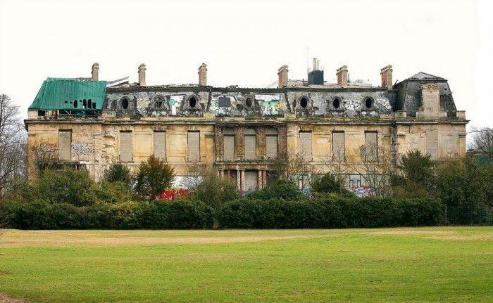 Le Chateau Rotshild abandonné,  Boulogne .
