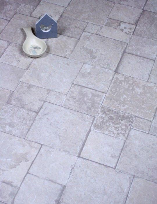 Tile Effect Flooring Stone Cream Mosaic Stones Ceramic Tile Laminate