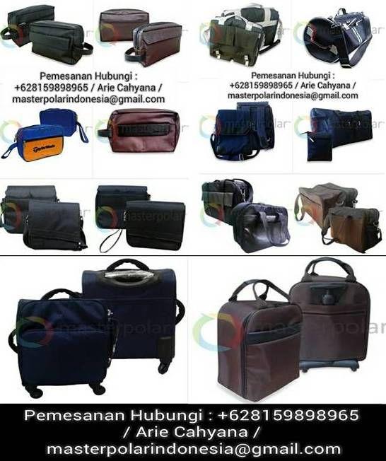 Membina jalinan kerjasama & meningkatkan citra perusahaan, dapat diungkapkan dalam produk Tas (Handbag,Shoppingbag,Toiletries bag,Ransel/Travel bag/etc) berkwalitas,   Wujudkan/merealisasikan ungkapan syukur serta kenangan bercahaya.  MPI/ArieCahyana/+628159898965/ masterpolarindonesia@gmail.com    #souvenir #gift #cinderamata #aspirasi #aspiration #bag #woman #man #fashion #trendy #handbag #koper #tas #travel #wallet #followme #like4like #instadaily #lineshopping #pinterest