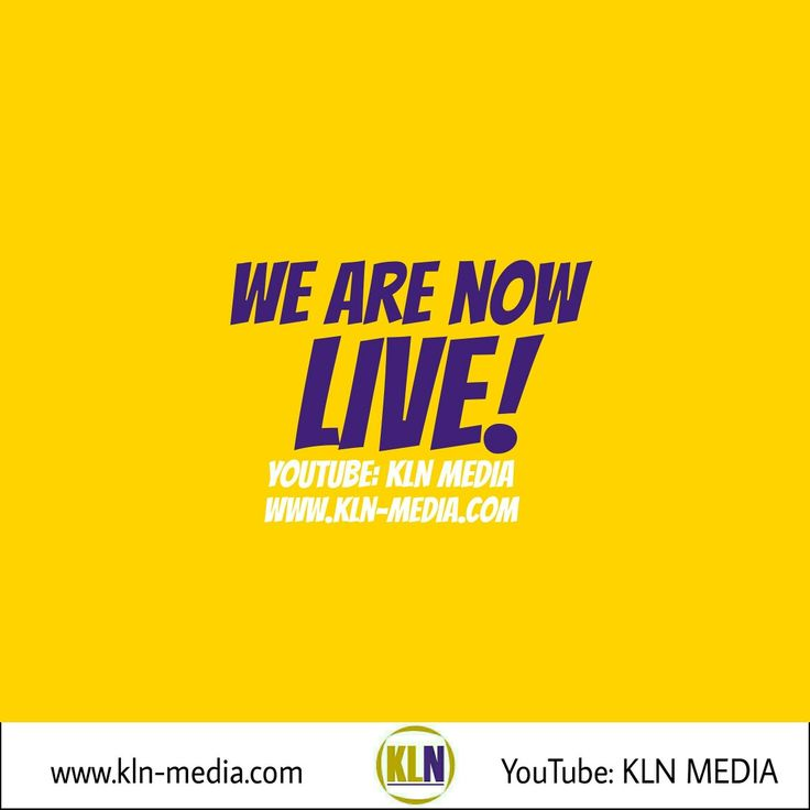 Kingdom Living Now  We are LIVE right now, at our Q & A! Our channel is:KLN Media. The link is: https://youtu.be/3W_4ejZJfO4.