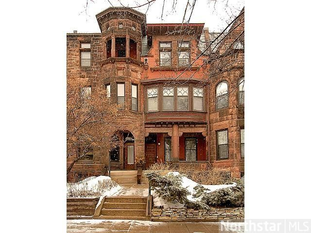 Historic #brownstone row house on Summit Avenue in St