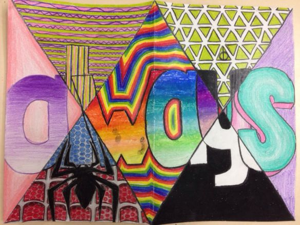 Elements and Principles of Design Word Art.