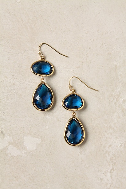 anthropologie fire ring drops