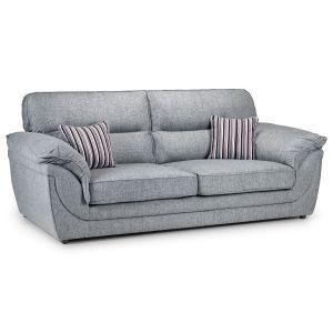 Eden 3 Seater Fabric Sofa