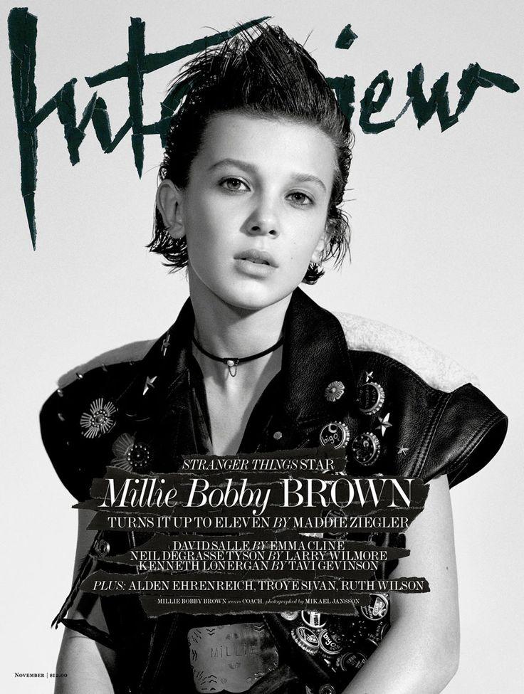 A primeira capa de revista da Eleven e ela é maravilhosa! http://ift.tt/2eURuPq
