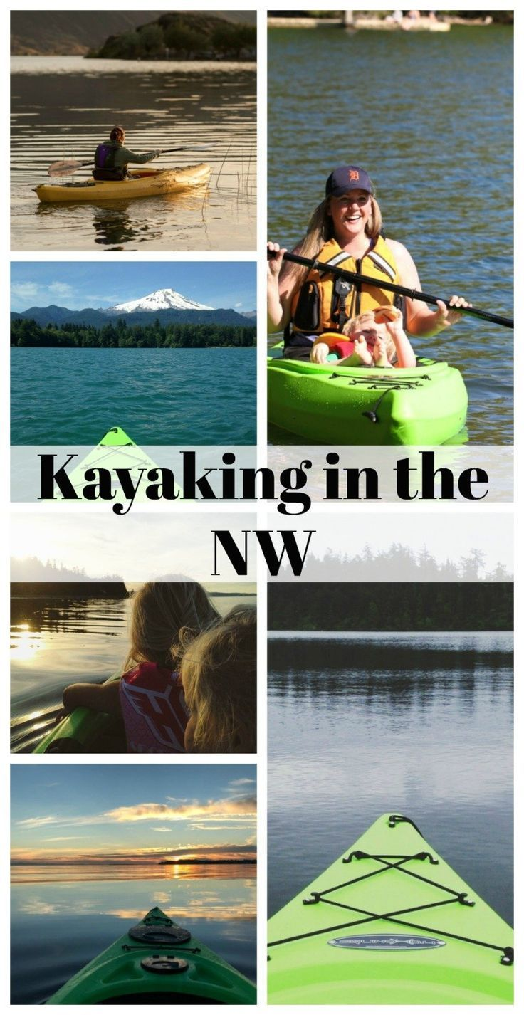 Best places to kayak in the NW