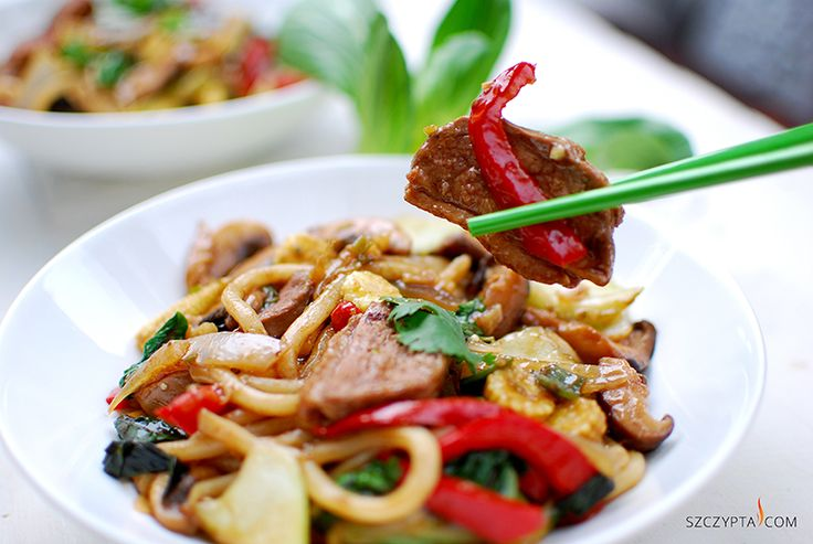 duck breast udon