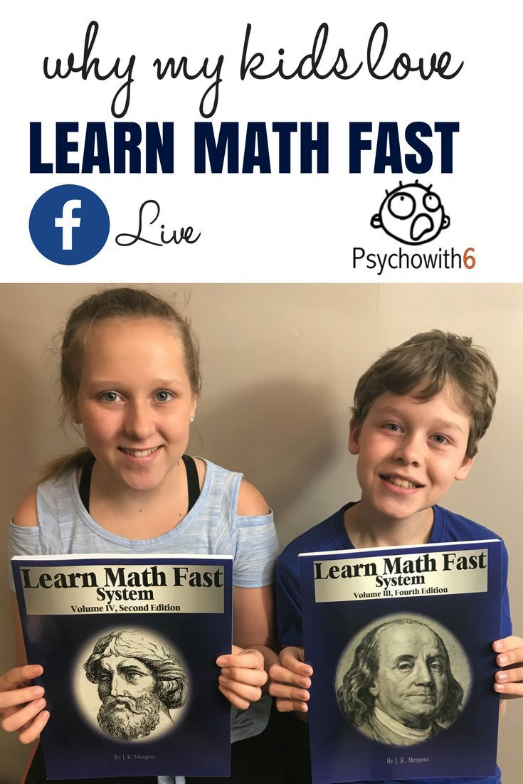 My kids love LearnMathFastBooks.com! Hear why & for a limited time enter the giveaway & save with codes SANITY5 & SANITY10.