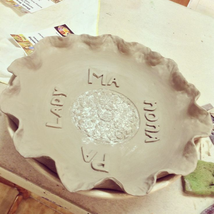 My very first #pottery class! What do u think?