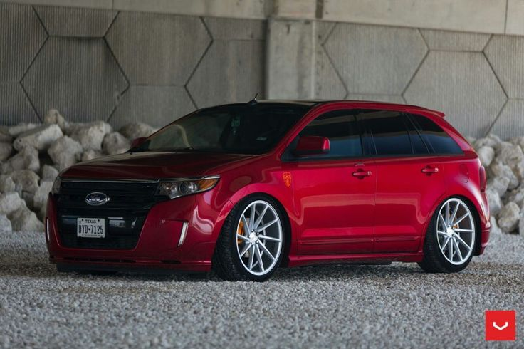 my ford edge sport on vossen cvt 22quot wheels nice rides