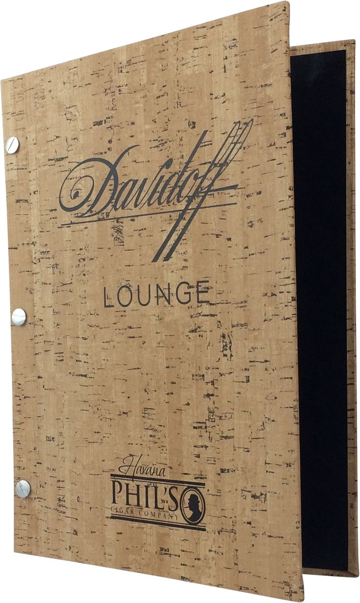 Davidoff - 384230 - Create an attractive arrangement of your menu items with menu covers from Menu Designs. We have a large selection of menu covers made from the finest materials. Whether you're a café interested in menu boards or a five star dining establishment who's looking for leather menu covers, we're sure you'll find the perfect menu covers for your restaurant.