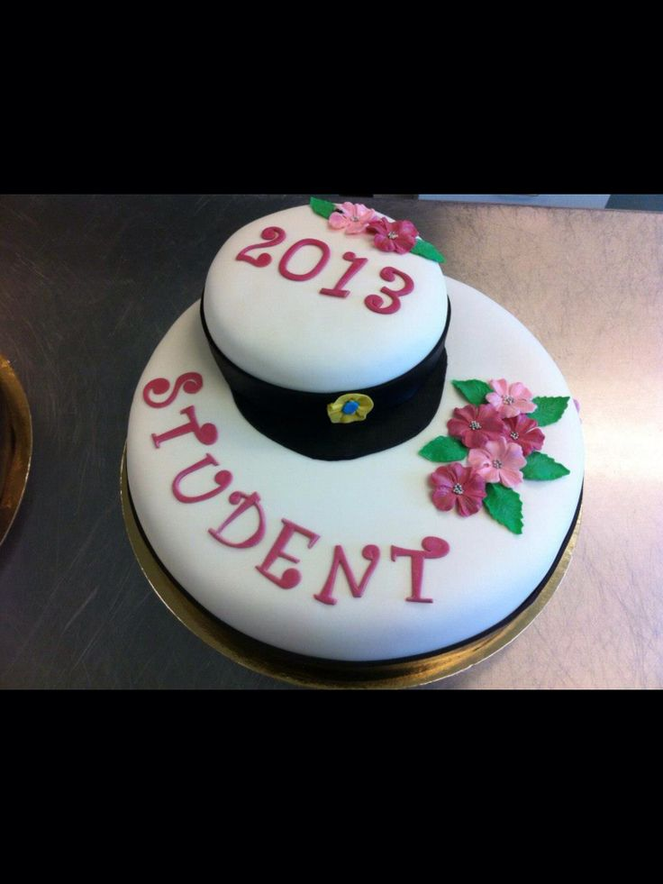 Graduation cake studenttårta student