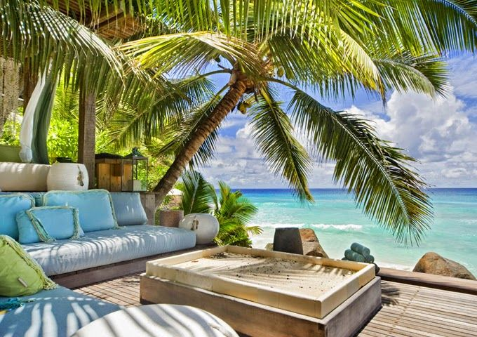 house of turquoise north island seychelles porch love pinterest turquoise happy and. Black Bedroom Furniture Sets. Home Design Ideas