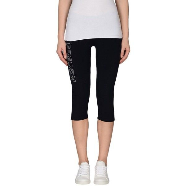 Freddy Leggings ($26) ❤ liked on Polyvore featuring pants, leggings, dark blue, jersey pants, cotton jersey pants, legging pants, cotton leggings and cotton trousers