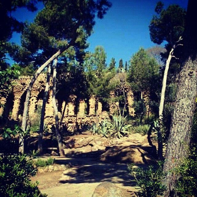 Barcellona, Parque Guell