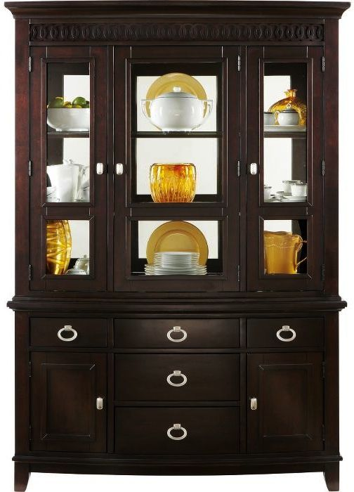 Painted China Cabinet Ideas Hutch Redo