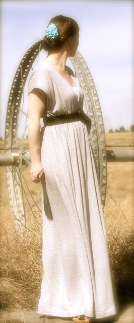 2nd Story Sewing: Maxi Dress Tutorial