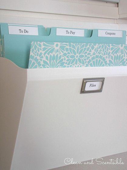 Organizing a Kitchen Command Center