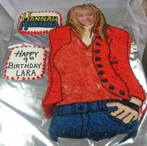 Hannah Montana  When Your Disney Inspired Cake Goes Horribly Wrong • Page 4 of 5 • BoredBug