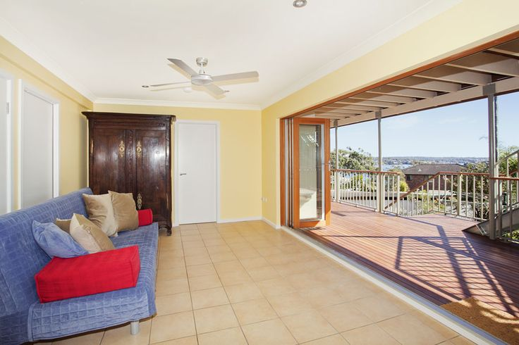 Second living area from- 'Its all to do with the Views' holiday home call 9527-7733 bundeenarealestate.com.au