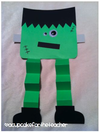 A Cupcake for the Teacher: My Frankenstein {a Craftivity}