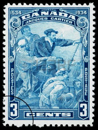 Canadá 1534 - 1934 - Jacques Cartier was a French explorer of Breton origin who claimed what is now Canada for France. Jacques Cartier was the first European to describe and map the Gulf of Saint Lawrence and the shores of the Saint Lawrence River.