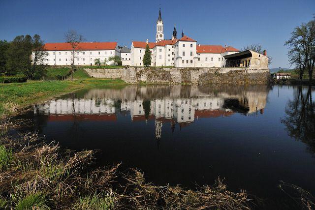 Vyšší Brod - monastery