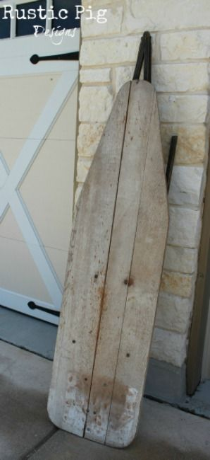 The Rustic Pig: Uses for Old Ironing Boards