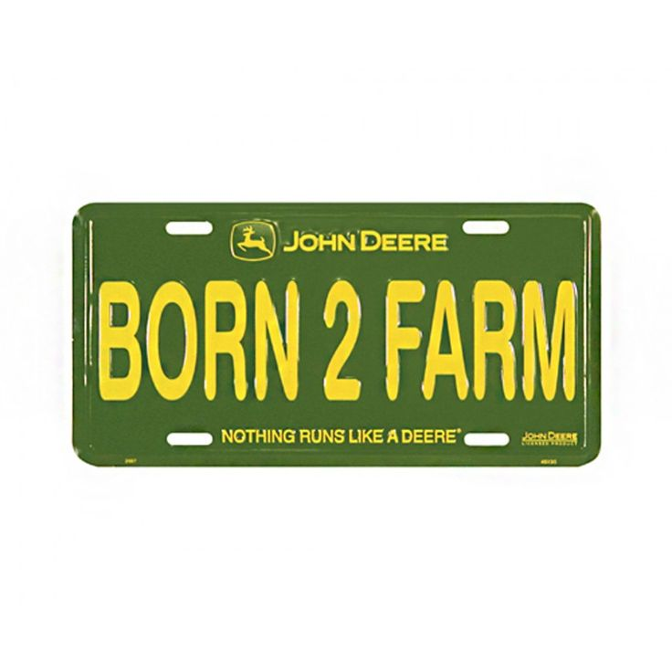 24 best john deere license places and automotive accessories