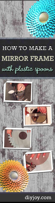 Diy Mirror Projects 28 Best Manualidades Y Decoracion Para La Casa Images On Pinterest